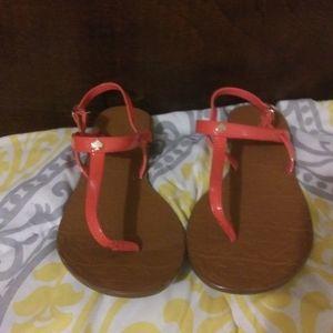 Kate spade coral sandals